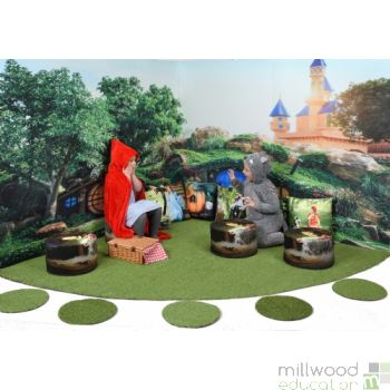 Fairytale Wonderscape Panels and Grass Only