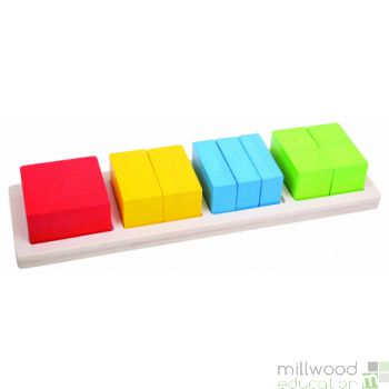 Fraction Boards Set of 3