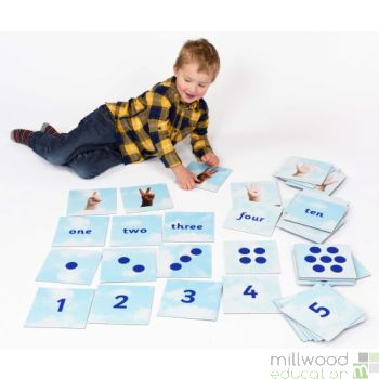 Number Matching Tiles