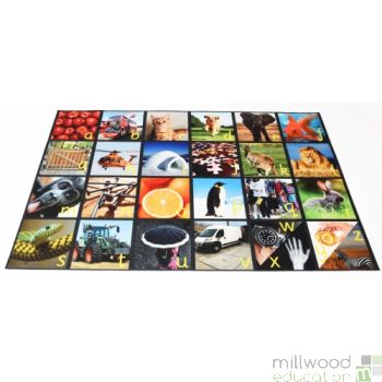 Alphabet Picture Playmat Real Images