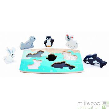 Tactile Puzzle Polar Animals