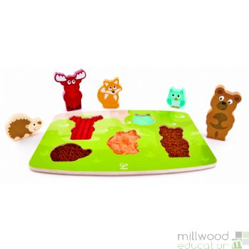 Tactile Puzzle Forest Animals