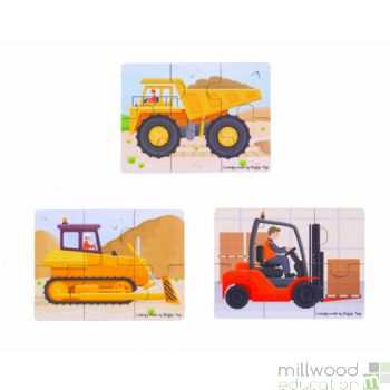 Six Piece Puzzles Big Movers
