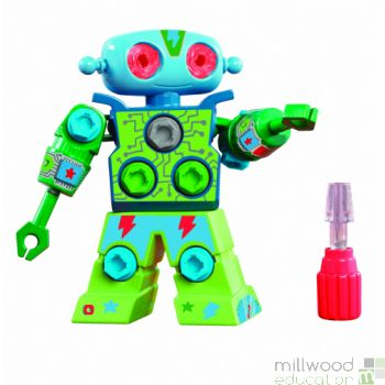 Design and Drill Robot Blue/Green