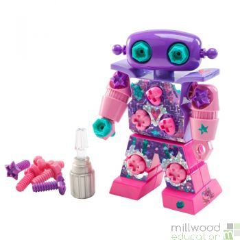 Design and Drill Robot Pink/Purple