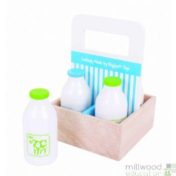 Milkman Delivery Milkbottles