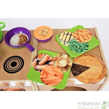 Role Play Food Discs