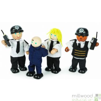 Police Officers and Prisoner Set