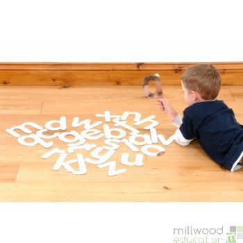 Lower Case Alphabet Mirrors (Set of 26)