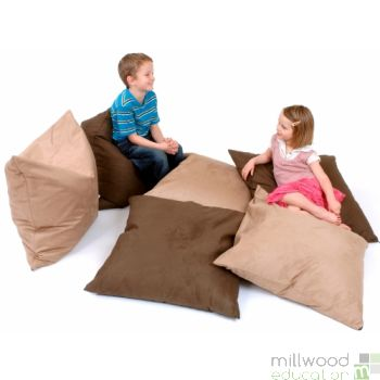 Giant Bean Floor Cushion A Natural