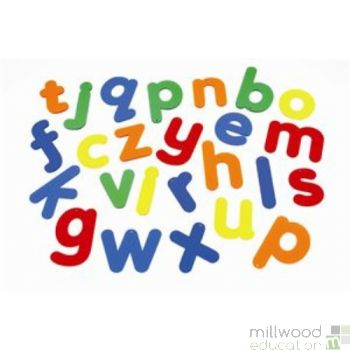 Rainbow Lowercase Alphabet (Set of 26)