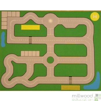 Road Plan Playmat