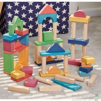 Rainbow Jumbo Blocks