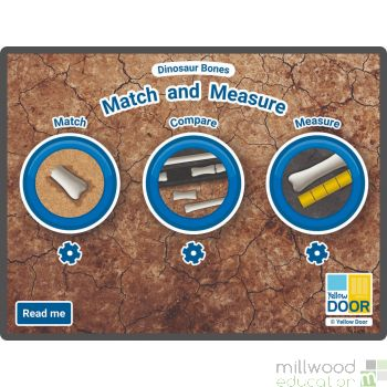 Dinosaur Bones Match and Measure 1 License