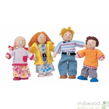 Doll Family (White)