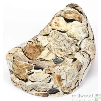Bean Bag Chair - Stone
