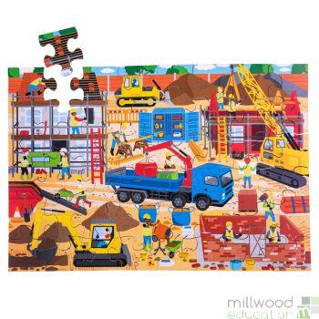 Construction Site Floor Puzzle