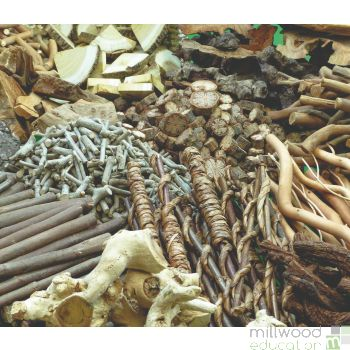 Wooden Treasure Basket