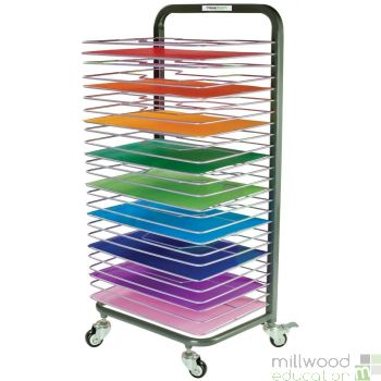 25 Shelf Mobile Drying Rack