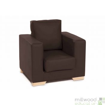 Milan Chair - CHOCOLATE