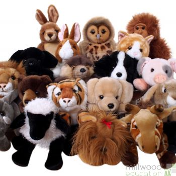 Cuddly Puppet Set of 8