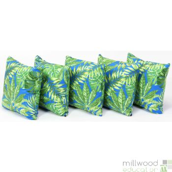 Tropical Cushions Blue
