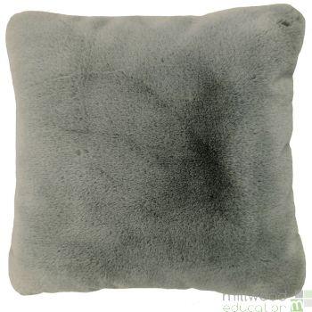 Faux Fur Cushion Taupe