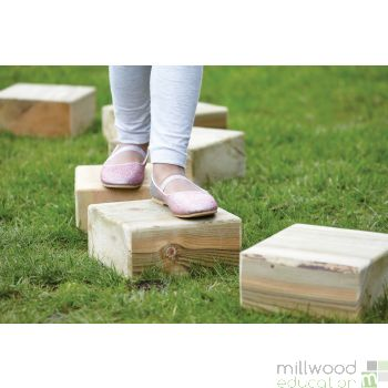 Outdoor Stepping Blocks