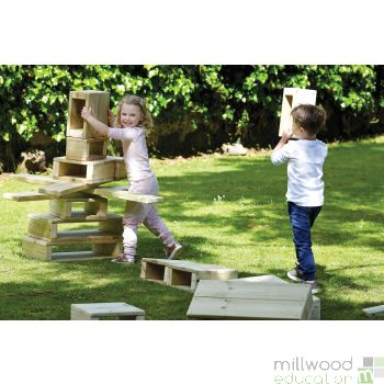 Outdoor Building Block Set