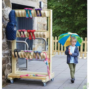 Double Sided Welly Storage