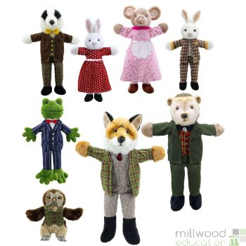 Dressed Animals Puppet Set