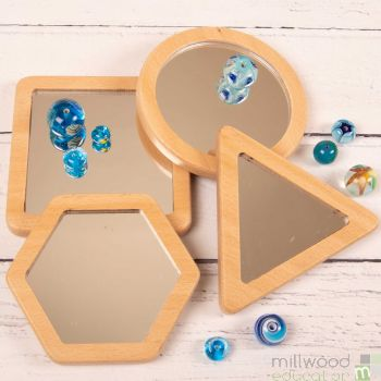 Shape Mirrors Set of 4