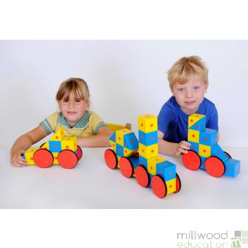 3D Magnetic Blocks - 40 Pieces