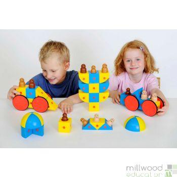 3D Magnetic Blocks Class set