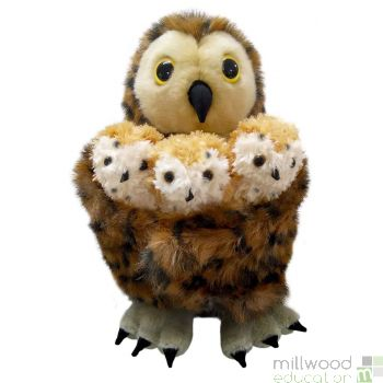 Tawny Owl Hide Away Puppet