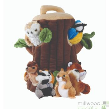 Tree House Hide Away Puppet