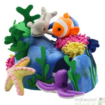 Under the Sea Hide Away Puppet