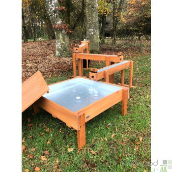 Outdoor Waterfall with Stand, Table and Pump