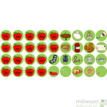 Apple Tree Initial Sounds Phonics