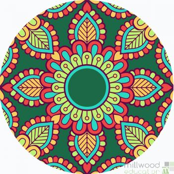 Mindfulness Mandala Mat Set