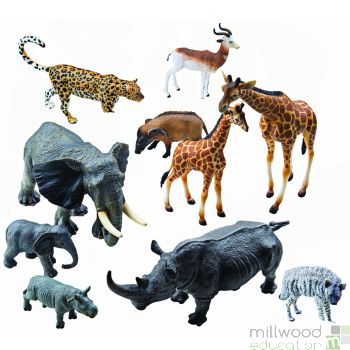 Plastic African Animals Set 2
