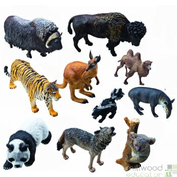 Plastic Around The World Animal Set