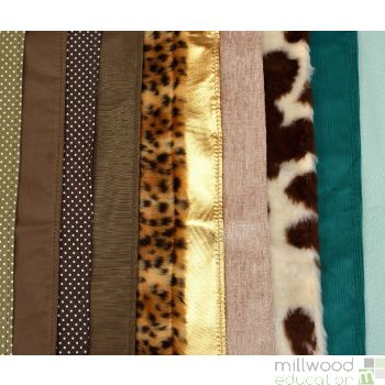 Fabric Pack of 10 100 x 50cm