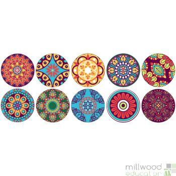 Mindfulness Mandala Placement Mats