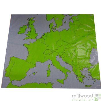 Europe Outline Cloth