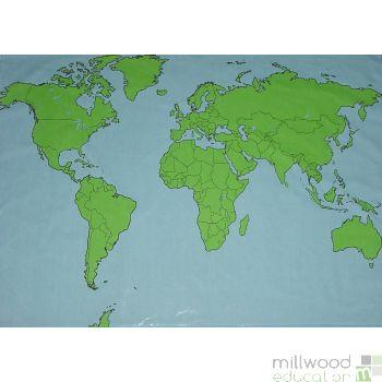 World Outline Cloth
