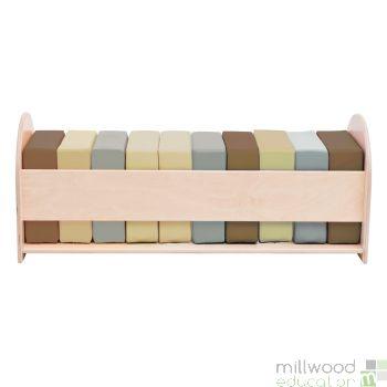 Soft Cushion Set with Storage Unit