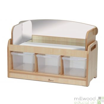 Low Sensory Play Unit with Mirror Surround and Tubs