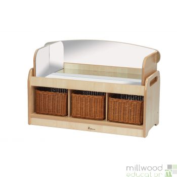 Low Sensory Play Unit with Mirror Surround