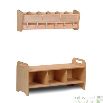 Cloakroom Cubby Set